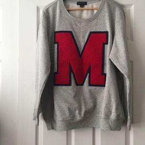 Forever 21 Plus Size • Letterman Style Sweatshirt